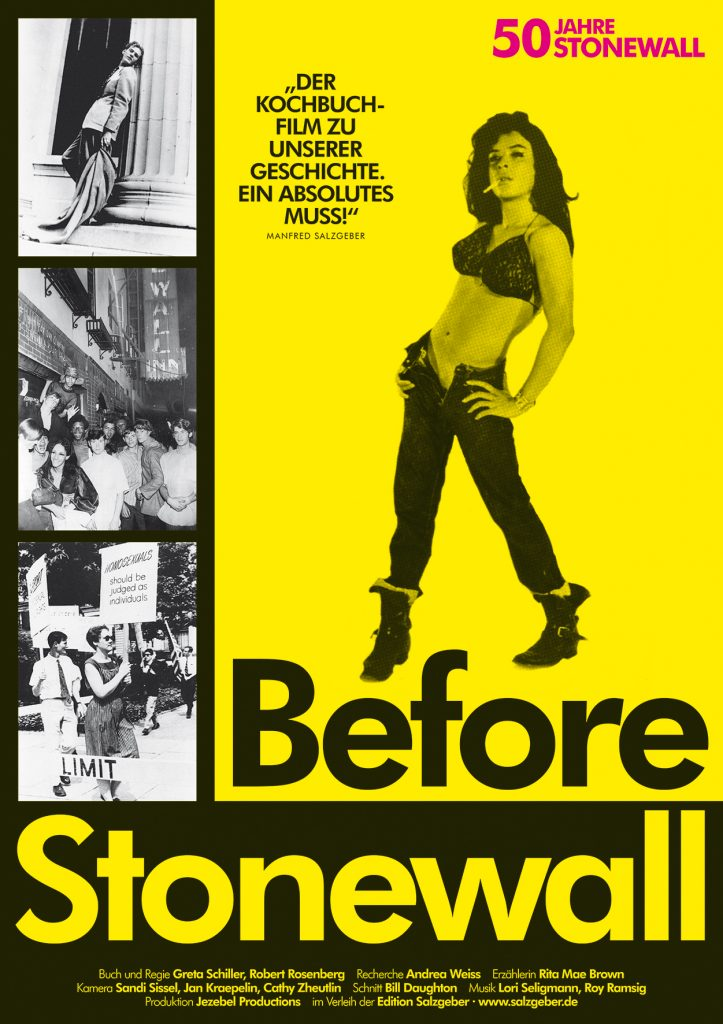 Filmplakat »Before Stonewall«