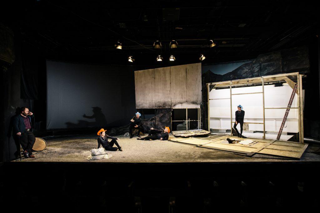 Schauspielhaus Wien Kudlich in Amerika