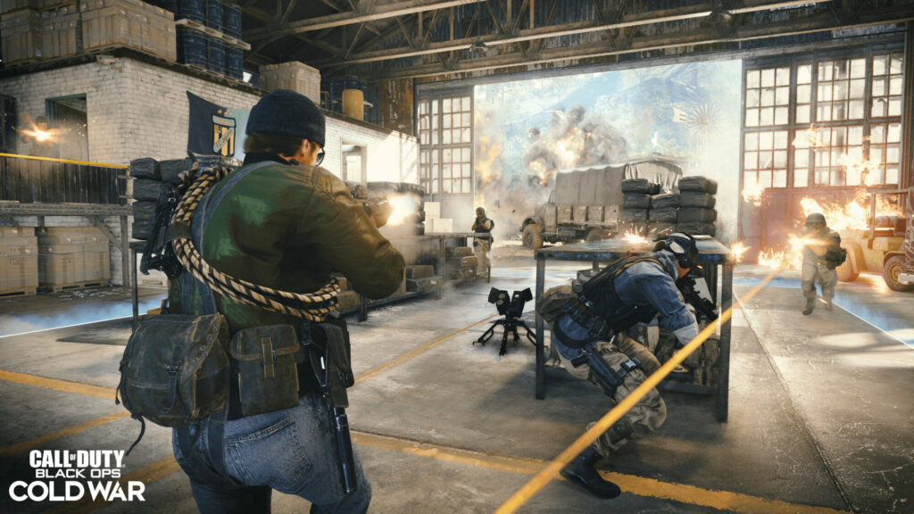 Eine Kampfszene in »Black Ops Cold War«