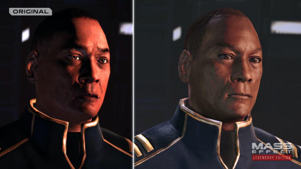 Captain Anderson im Grafikvergleich der Versionen
