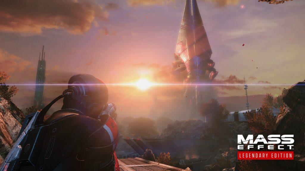 Bild aus dem Remaster von Mass Effect Commander Shepard