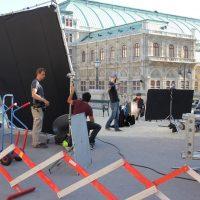 Drehort Wien: Marijana Stoisits im Interview