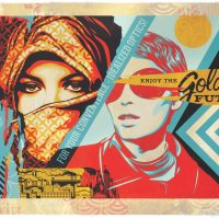 »Golden Future« für Street Art: Shepard Fairey in Wien