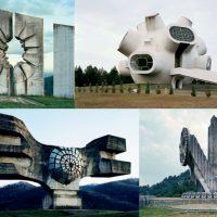 Jugo Monumente nicht von dieser Welt